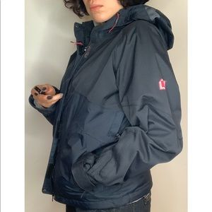 Hello Hansen insulated rain jacket